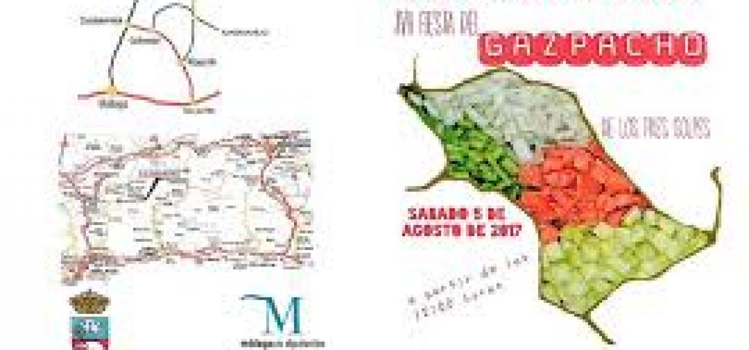 Trípitico Fiesta del Gazpacho de Alfarnatejo 2017