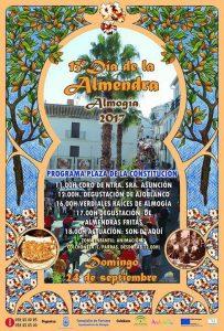Cartel del Día de la Almendra 2017.