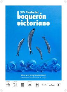 Cartel de la Fiesta del Boquerón Victoriano 2017