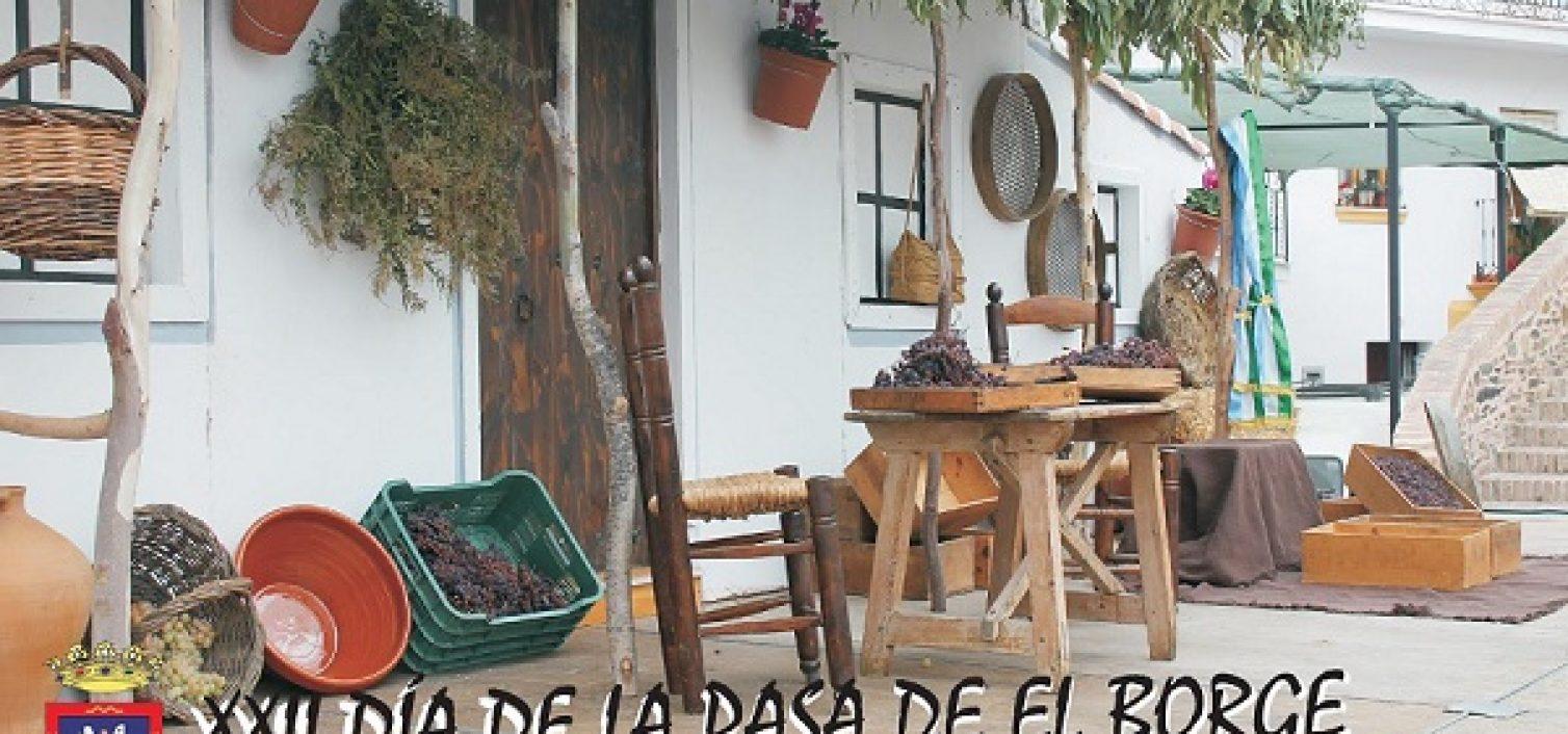 Cartel día de la Pasa El Borge