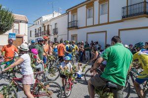 Clásico paseo en bicicleta de la Feria de la Vendimia de Mollina.