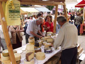 El lugar ideal para comprar quesos artesanos.