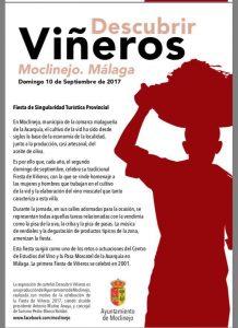 Moclinejo rinde tributo a los viñeros cada mes de septiembre.