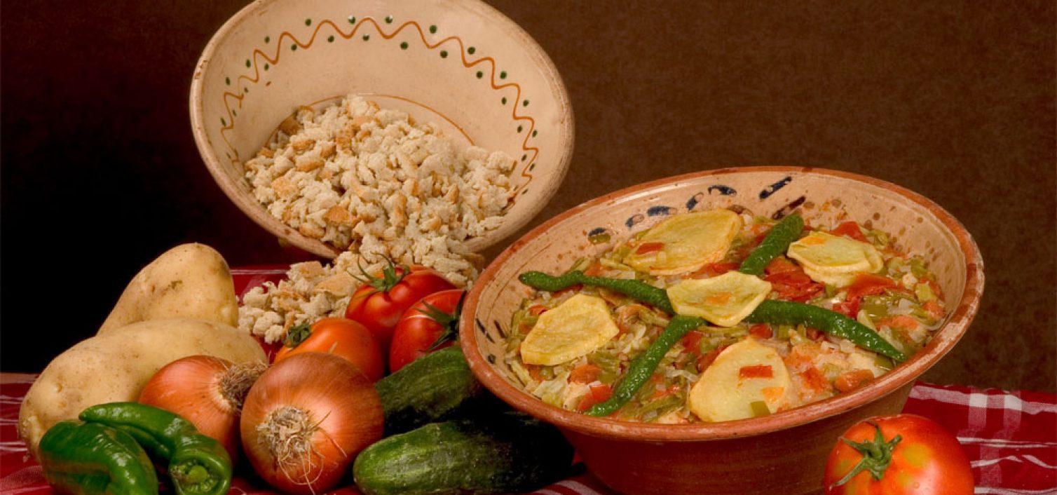 Sopa perota de Hacienda los Conejitos e ingredientes