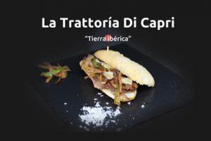 Tapa de La Trattoría di Capri en la Ruta de la Tapa de Pizarra.