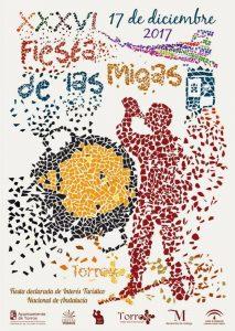 Cartel de la Fiesta de las Migas de Torrox 2017