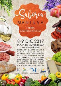 Cartel de Saborea Manilva 2017-Manilva