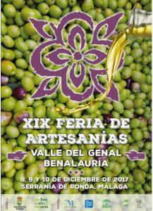 Feria de Artesanías del Valle del Genal
