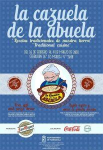 Cartel de la Cazuela de la Abuela 2018.