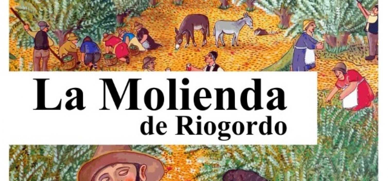 Cartel de La Molienda de Riogordo 2018.