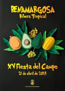 Cartel de la Fiesta del Campo 2018.