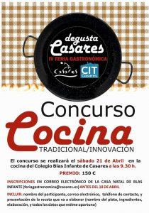 Concurso de Cocina de Degusta Casares 2018.