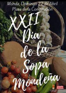 Cartel del Día de la Sopa Mondeña 2018.