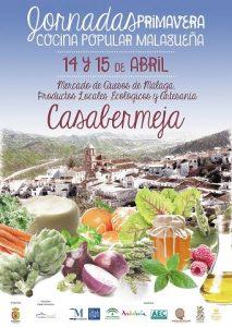 Jornadas de Cocina Popular Malagueña de Primavera 2018