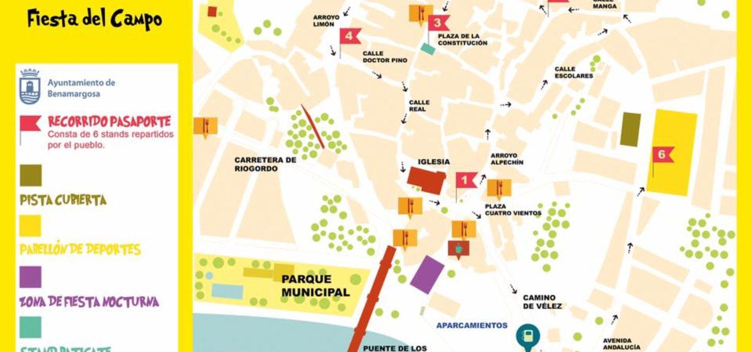Plano de la Fiesta del Campo 2018