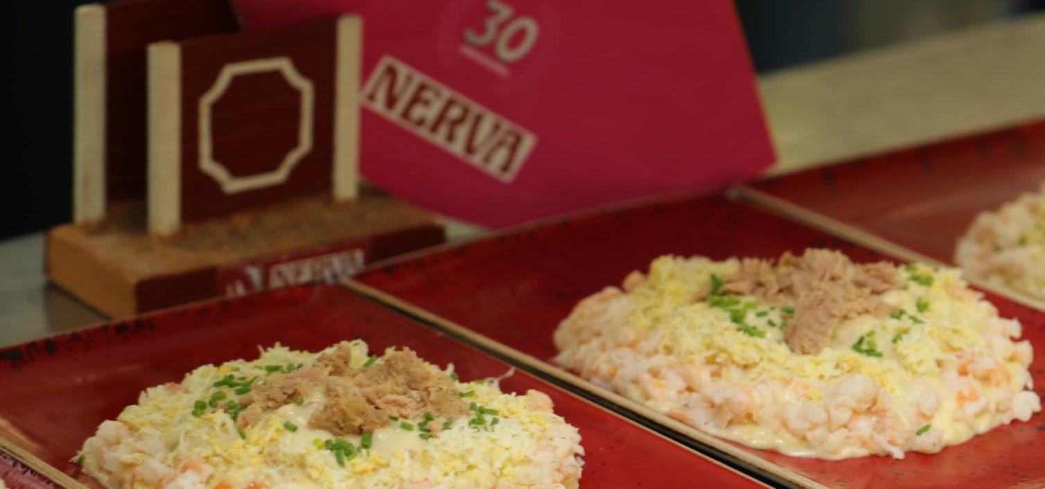 Ensaladilla rusa del restaurante Nerva, ganadora de la anterior edición.