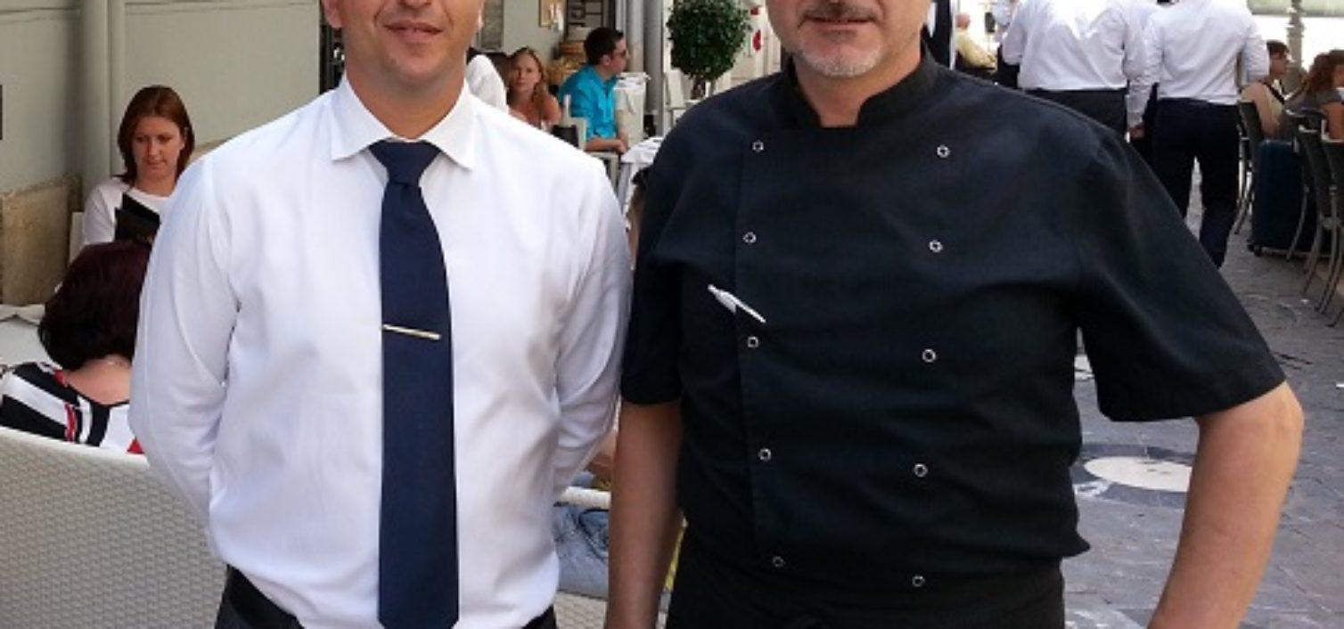 Javi Soto y Miguel Santiago