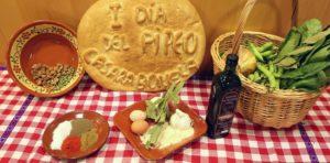 Ingredientes del Pipeo de Casarabonela.