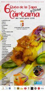 Restaurantes participantes en la Ruta de la Tapa y del Cóctel de Cártama 2018.