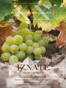 Cartel Día de la Uva Moscatel de Iznate.