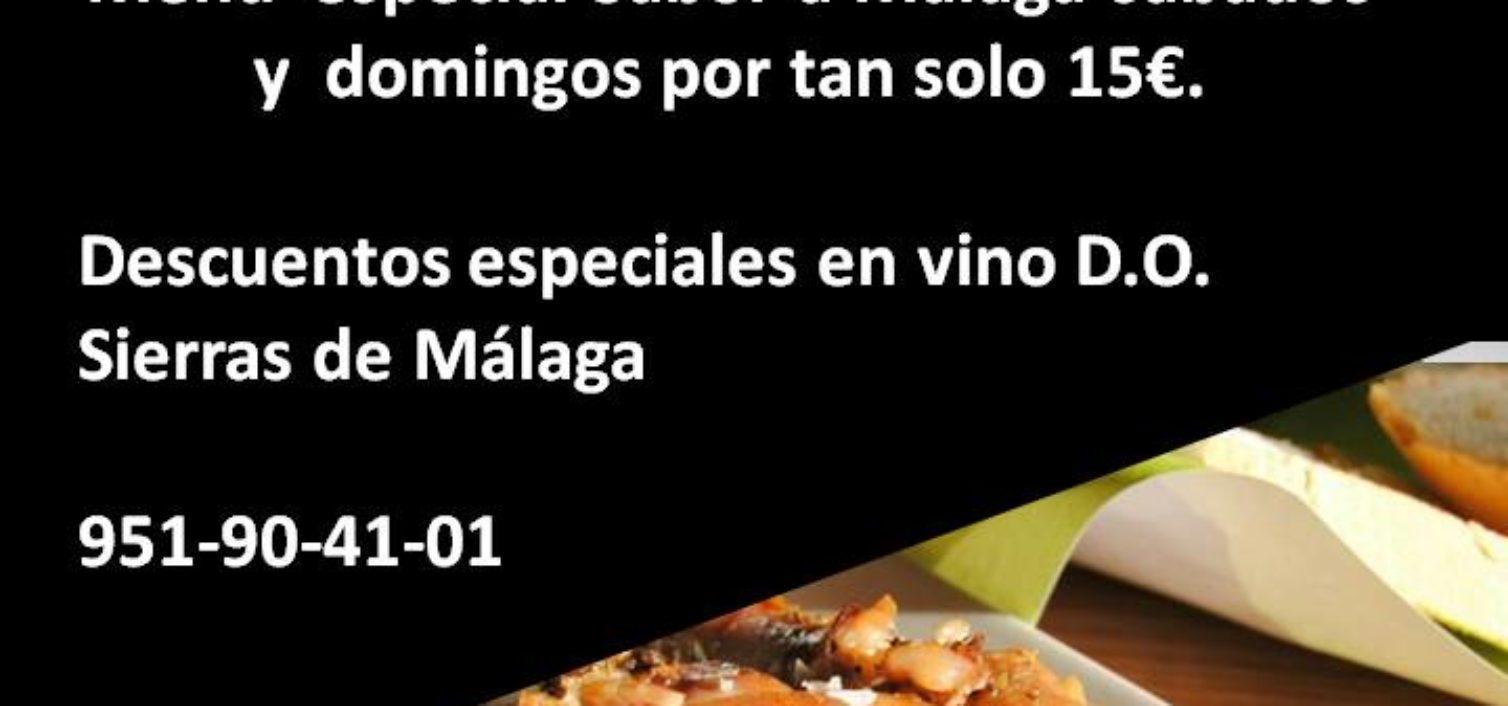 Septiembre con Sabor a Málaga en la Venta La Chalaúra