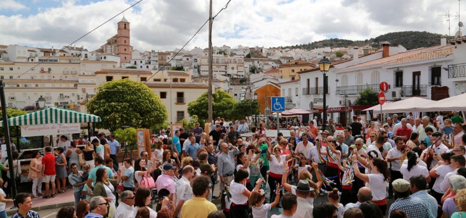 Ambiente en la Fiesta de la Cabra Malagueña