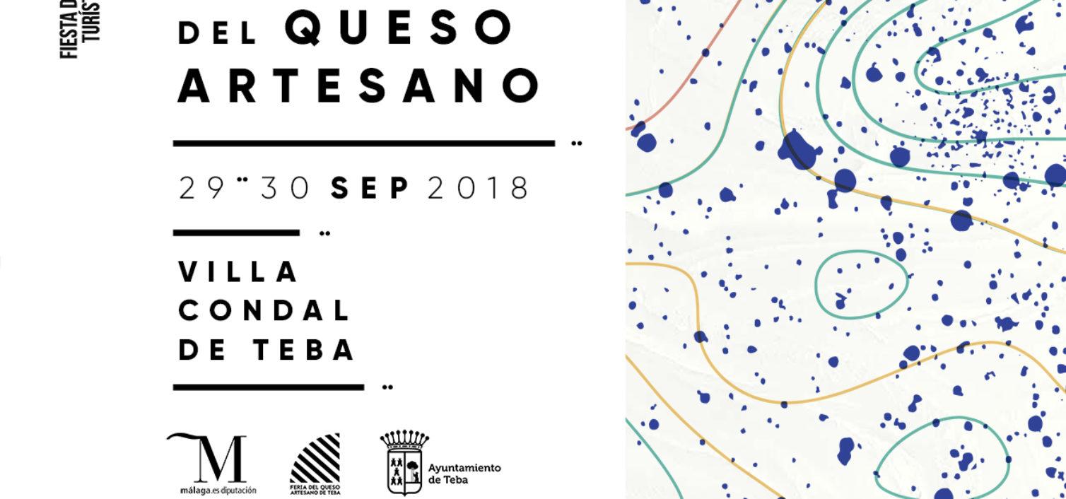 Cartel de la Feria del Queso Artesano 2018