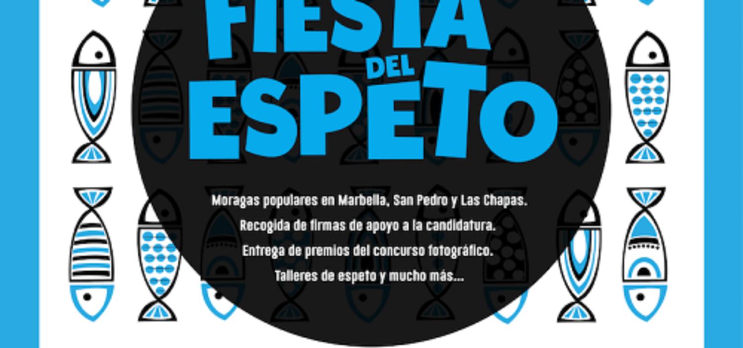 Cartel de la primera Fiesta del Espeto en Marbella