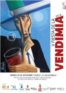 Fiesta de la Vendimia de Málaga 2018.