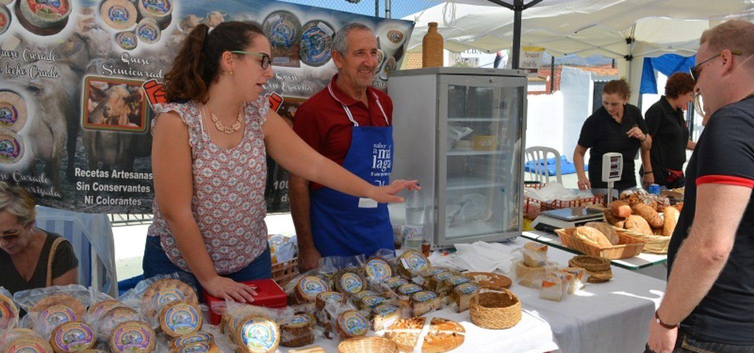 La Fiesta de la Cabra Malagueña 2018 es una buena ocasión para comprar quesos artesanos