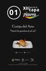 Tapa de Cortijo del Arte.