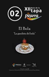Tapa de El Bola.