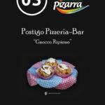 Tapa de Postigo Pizzería Bar.