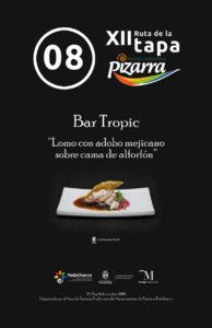 Tapa de Bar Tropic.