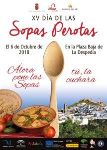 Cartel del Día de las Sopas Perotas 2018.