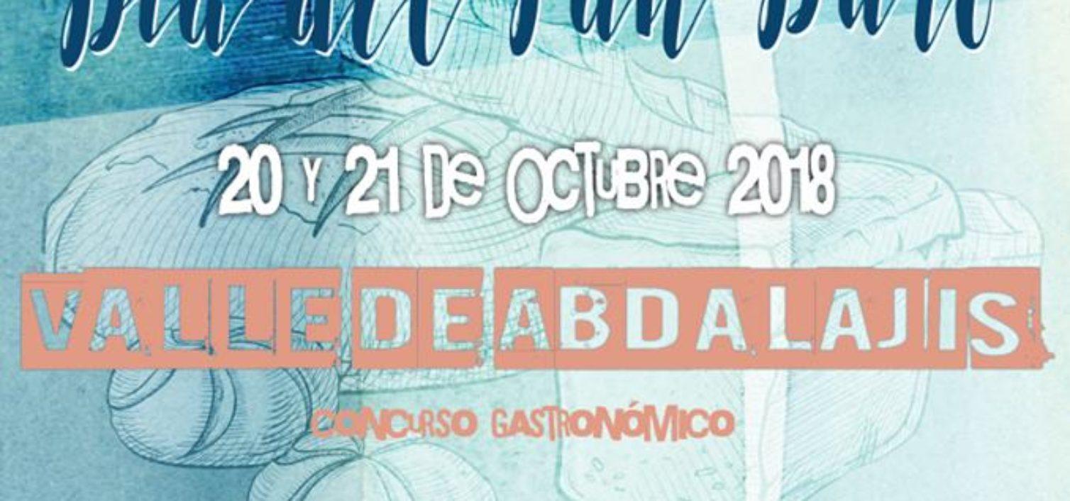 Cartel del Día del Pan Duro de Valle de Abdalajís