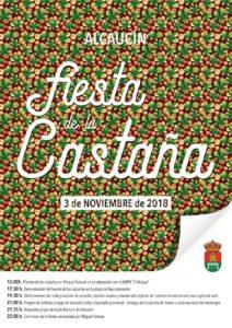 Fiesta de la Castaña de Alcaucín 2018.