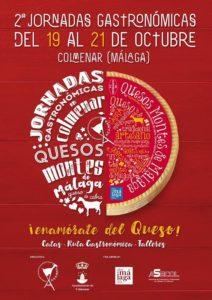 Jornadas Gastronómicas de los Quesos de los Montes de Málaga.