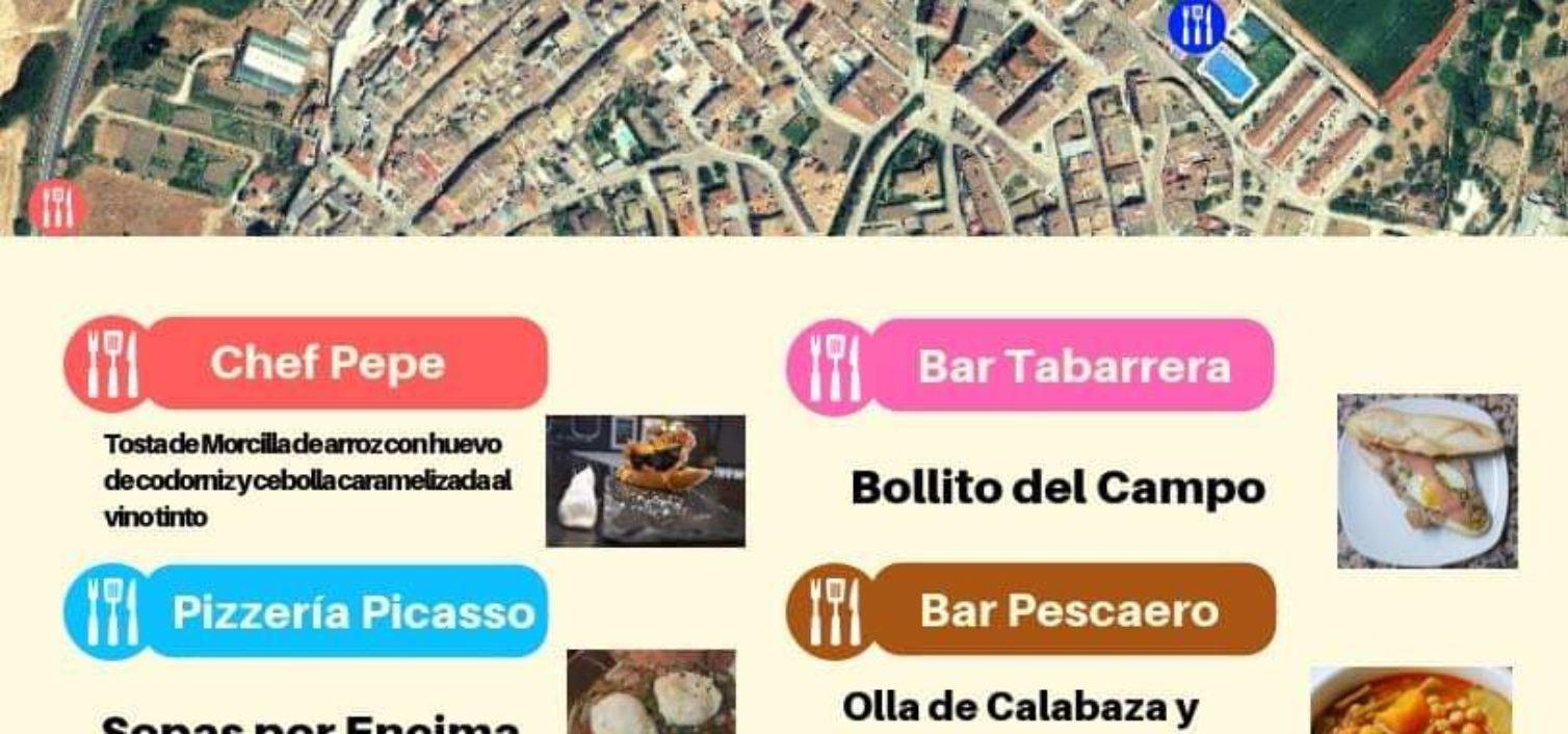 Tapas locales en las Jornadas del Campo de Cuevas del Becerro 2018