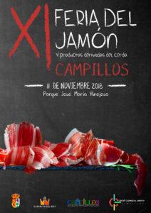 Cartel de la la Feria del Jamón y de los Productos Derivados del Cerdo 2018.