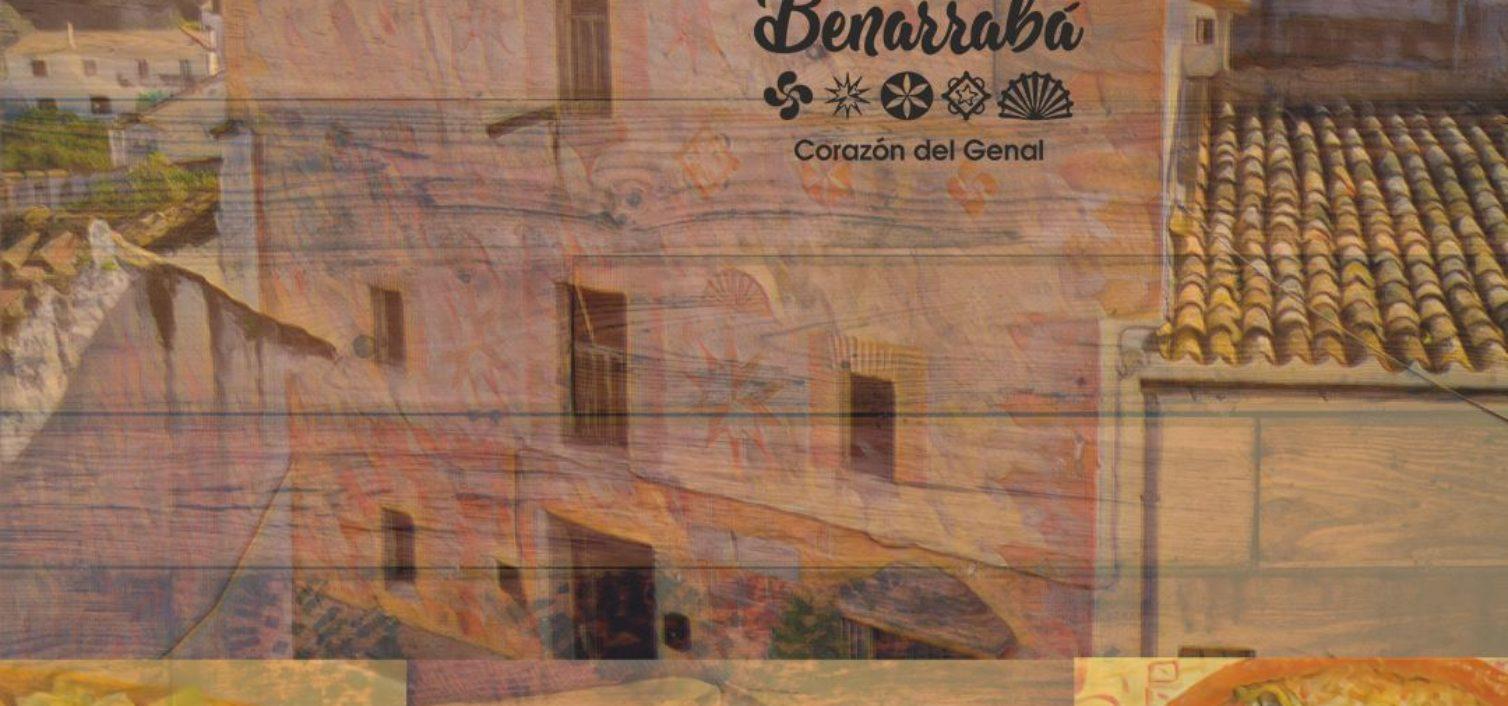 Cartel de la Feria Gastronómica de la Serranía de Ronda 2019.