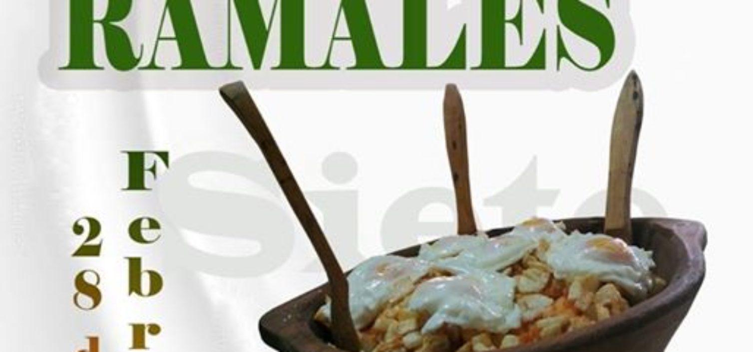Cartel de la Fiesta de la Sopa de los Siete Ramales 2019