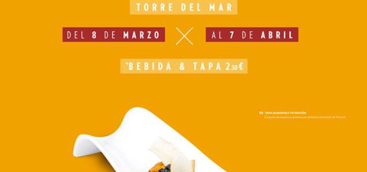Cartel de la Ruta de la Tapa de Torre del Mar 2019.