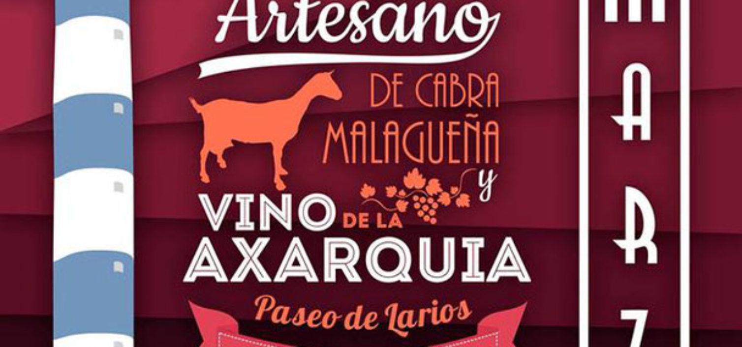 Mercado del Queso Artesano de la Cabra Malagueña y Vino de la Axarquía 2019.