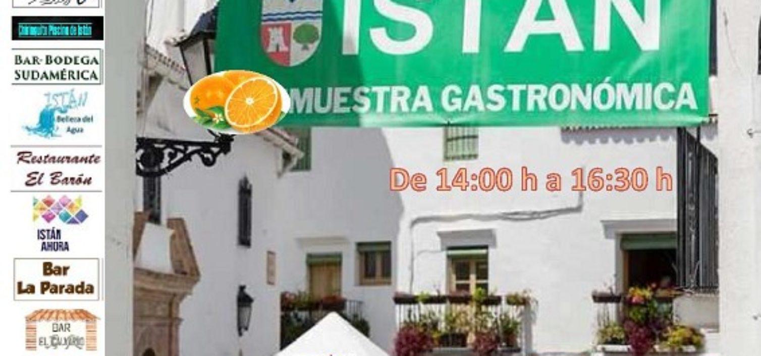 Cartel de la Muestra Gastronómica y Día de la Naranja 2019