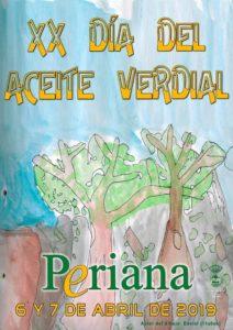 Cartel del Día del Aceite Verdial 2019.