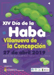 Cartel del Día de la Haba 2019.