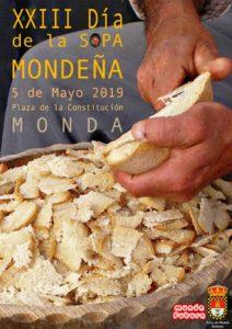 Cartel del Día de la Sopa Mondeña 2019.