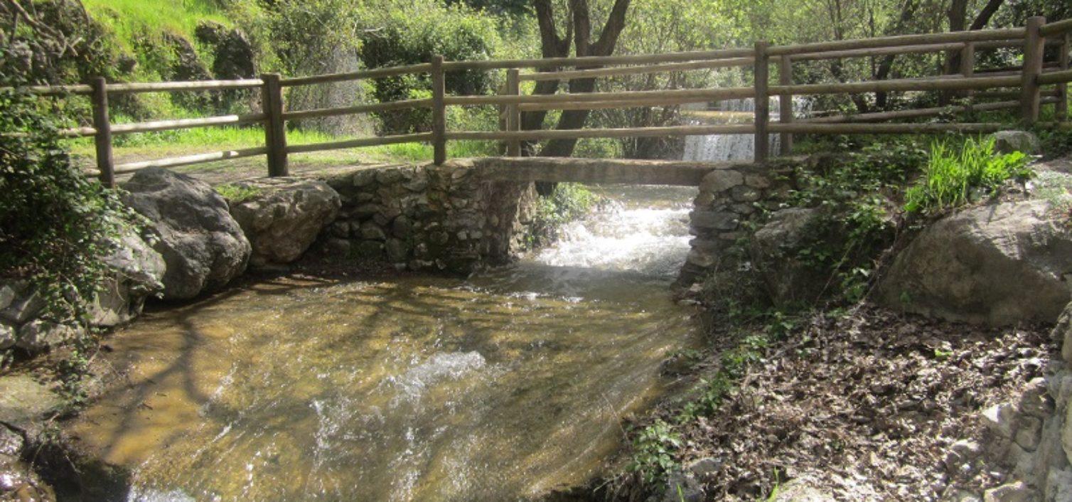 Arroyo del Alcázar, en Alcaucín.