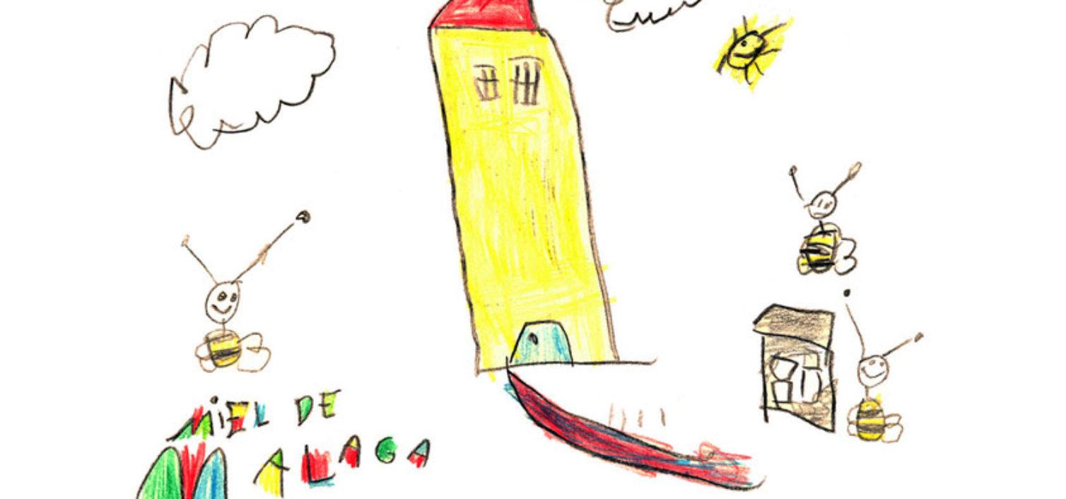 Concurso de dibujo del Día Mundial de las Abejas.